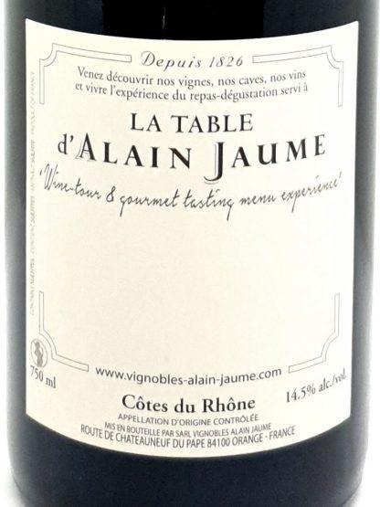 Achat de Côtes du Rhône rouge en ligne - Grand veneur - Alain Jaume - Tastavin véritable caviste sur internet