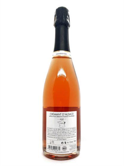 Achat de crémant en ligne - Crémant d Alsace rosé brut de la cave de Beblenheim - 100% Pinot noir - Tastavin votre véritable caviste sur internet