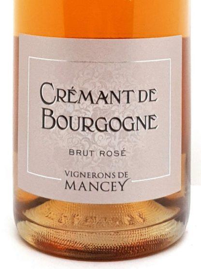 Achat de crémant en ligne - Bourgogne rosé brut des vignerons de Mancey - Tastavin votre cave à vin sur internet