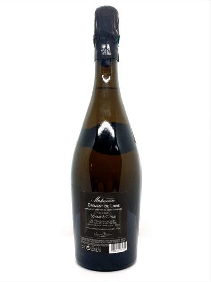 Achat de crémant de la loire en ligne - Bonnie and Clyde millésime 2012 - Saget la Perrière - Château de la Mulonnière - Tastavin votre livreur de vin à domicile en France et en Europe.