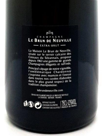 Livraison de Champagne à domicile - Champagne Blanc de Blancs Extra Brut - Le Brun de Neuville - Tastavin votre caviste en ligne