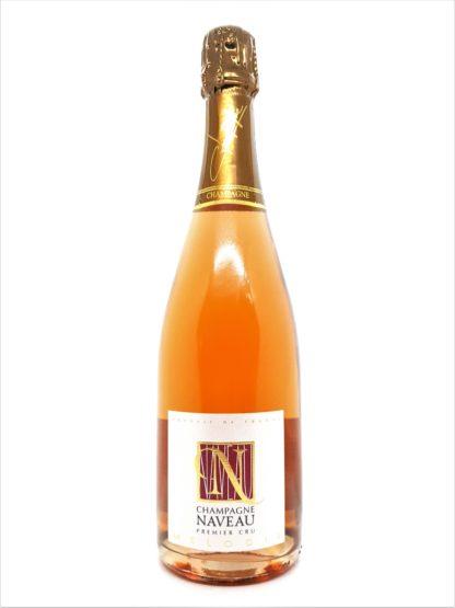 Champagne Rosé premier cru Mélodie Naveau - Tastavin vente de vin en ligne