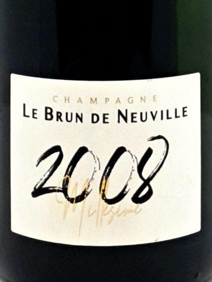 Achat de Champagne millésimé 2008 Le Brun de Neuville - Tastavin vendeur de vin en ligne
