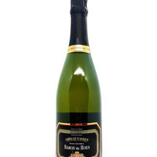 Commande crémant en ligne - Alsace brut Baron de Hoen - Cave de Beblenheim - Tastavin livraison de vin à domicile en France et en Europe