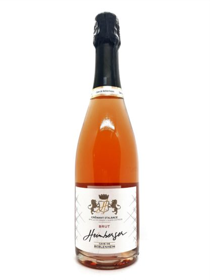 Commande de crémants en ligne chez Tastavin, votre véritable caviste. Alsace rosé brut 100% pinot noir de la cave de Beblenheim. Livraison à domicile en France et en Europe.
