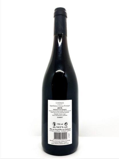 Commande en ligne de vin rouge - AOP Chénas Le Bucher - Château de l Eclair - Tastavin véritable caviste
