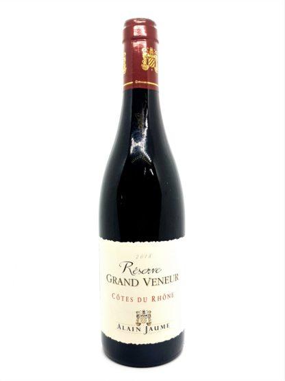 Commande en ligne de vin rouge - Côtes du Rhône Réserve Grand veneur - Alain Jaume - Tastavin vendeur de vin sur internet