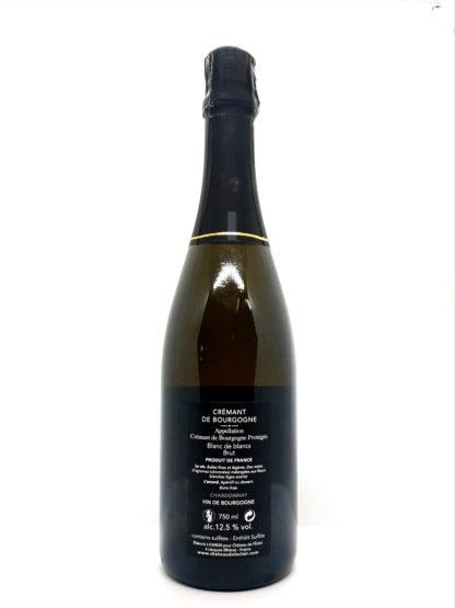 Crémant de Bourgogne blanc de blancs - Chateau de l éclair - Tastavin votre véritable caviste sur internet