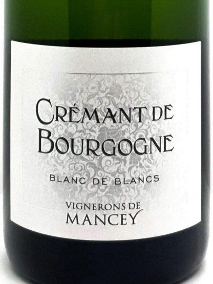 Crémant de Bourgogne blanc de blancs - Vignerons de Mancey - Tastavin votre caviste sur internet