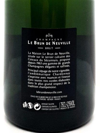 Explication étiquette - Champagne millésimé 2008 - Tastavin achat de vin en ligne