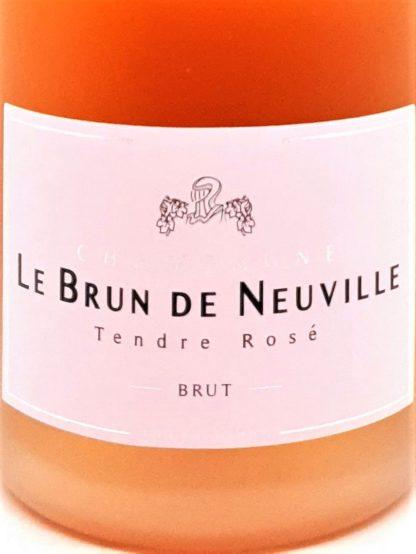 Champagne rosé le Brun de Neuville à acheter en ligne chez Tastavin, votre véritable caviste sur internet.