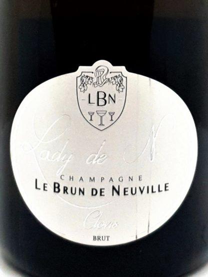 Livraison de champagne à domicile - Lady de N de Le Brun de Neuville - Tastavin caviste sur internet