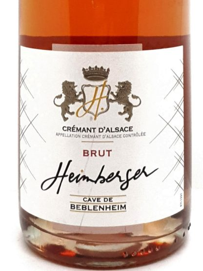 Livraison de crémant à domicile pas chers - Rosé brut Alsace de la cave de Beblenheim - Tastavin vente de vin en ligne