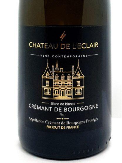 Livraison de crémant à domicile - Bourgogne 100 % Chardonnay Château de l éclair - Tastavin vente de vin en ligne