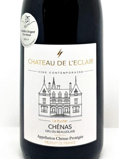 Livraison de vin rouge à domicile - Chénas 2015 Le Bucher - Chateau de l Eclair - Tastavin caviste en ligne