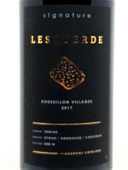 Livraison de vin à domicile - Rouge Côtes du Roussillon villages - Signature Lesquerde - Vignerons catalans - Tastavin vendeur de vin en ligne