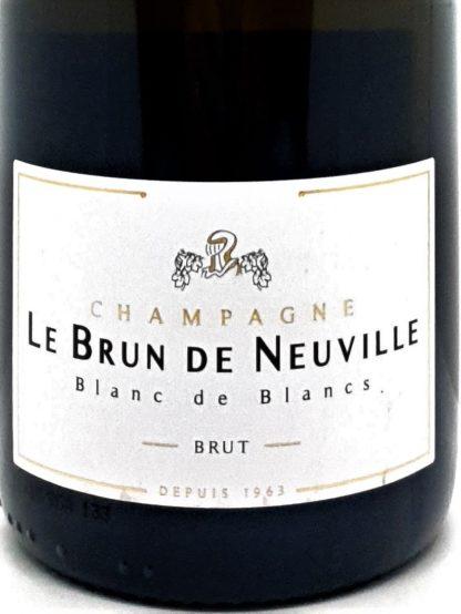 Vente en ligne de Champagne pas chers - Blanc de Blancs de Le Brun de Neuville chez Tastavin votre caviste sur internet