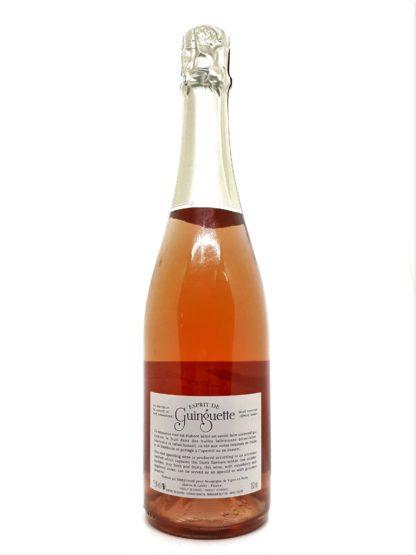 Vin pétillant rosé demi-sec à acheter sur internet - Esprit de Guinguette - vignerons de Mancey - Tastavin pour l amour du vin