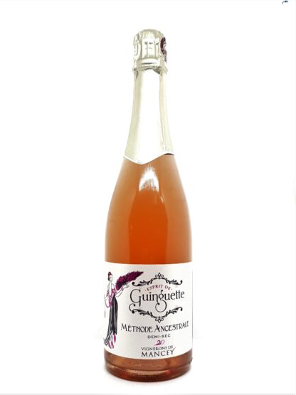 Vin pétillant rosé demi-sec - Esprit de Guiguette - Vignerons de Mancey - Bourgogne - Tastavin votre caviste sur internet