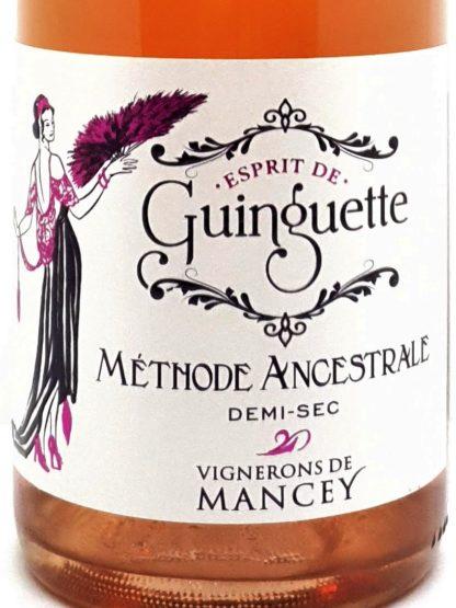 Vin pétillant rosé demi-sec - Esprit de guinguette - Vignerons de Mancey - Tastavin livraison de vin à domicile