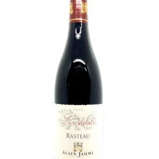 Achat de vin rouge en ligne - Côtes du Rhône rouge Rasteau Les Vallats 2016 - Domaine Alain Jaume - Tastavin votre véritable caviste sur internet