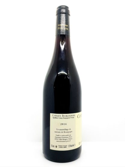 Achat de vin en ligne Coteaux Bourguignons 2016 des domaines Dominique Piron - tastavin, votre caviste préféré sur internet vous livre à domicile.