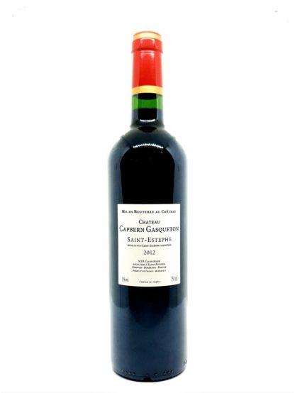 Achat de Saint-Estephe en ligne - Chateau Capbern Gasqueton 2012 - Tastavin caviste sur internet