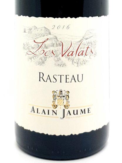 Commande de vin rouge en ligne - Côtes du Rhône rouge Rasteau 2016 Les Vallats - Domaine Alain Jaume - Tastavin votre vendeur de vin sur internet