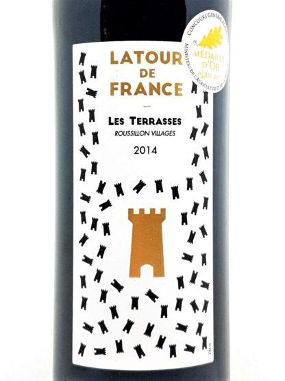 Commande de vin en ligne - Côtes du Roussillon villages - Latour de France - Les Terrasses 2014 - Vignerons catalans - tastavin votre caviste sur internet