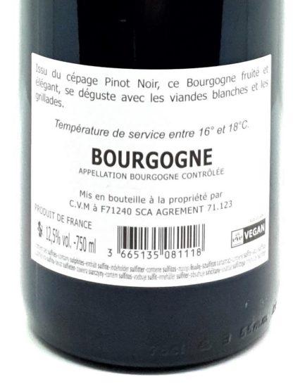 Livraison de vin en ligne - Pinot noir de Bourgogne - Vin végan - Domaine Dupré - Tastavin votre caviste sur internet