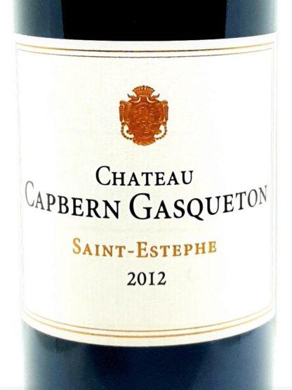 Livraison de Saint-Estephe à domicile - Chateau Capbern Gasqueton 2012 - Tastavin caviste sur internet