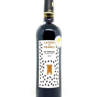 Vente de vin en ligne - Côtes du Roussillon villages - Latour de France - Les Terrasses 2014 - Vignerons catalans - tastavin votre caviste sur internet