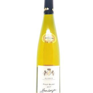 Achat de vin blanc d'Alsace en ligne - Pinot blanc 2017 Cave de Beblenheim - Tastavin caviste sur internet
