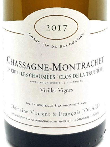 Commande Bourgogne blanc premier cru en ligne - Chassgnet Montrachet Les Chaumées - Domaine Jouard - Tastavin votre caviste sur internet