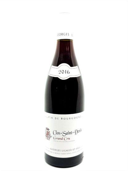 Vente de vin rouge en ligne - Clos Saint Denis grand cru 2016 - Georges Lignier et fils - Tastavin votre caviste sur internet