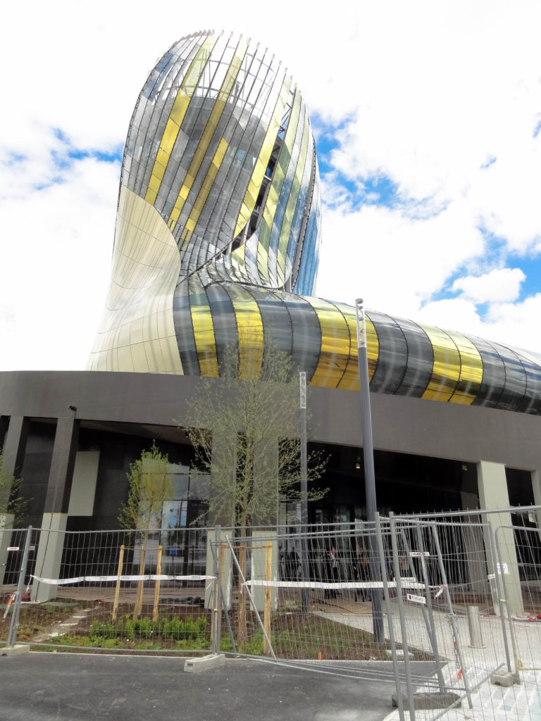 Meilleurs millésimes de Bordeaux - Cité des vins à Bordeaux avant son ouverture