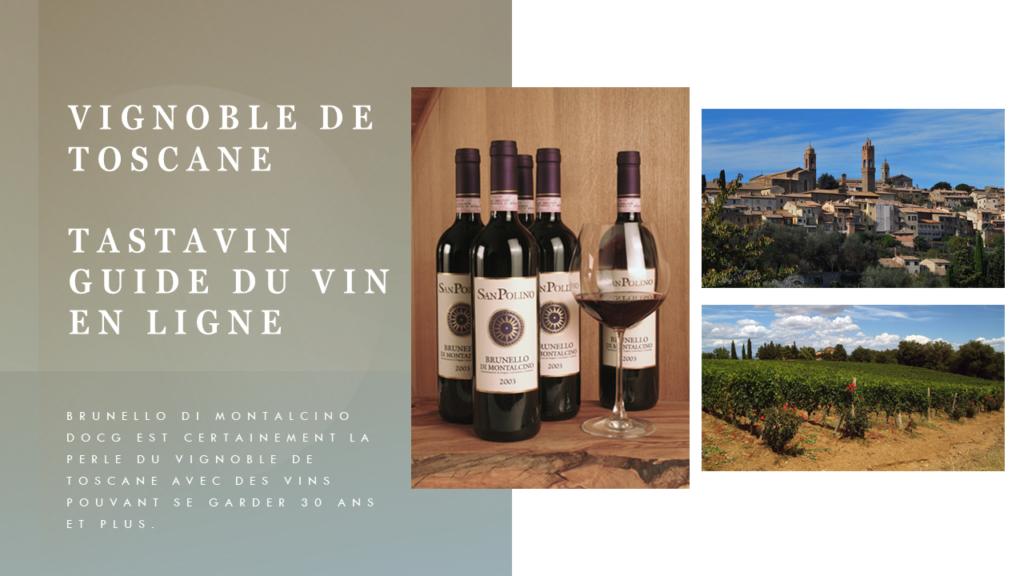 Ce vin est la perle du vignoble de Toscane. Le Brunello di Montalcino est avec le Barolo du Piémont un des vins italiens qui peut vieillir le plus longtemps. Ce vin rouge est 100% siangovese. Guide du vin en ligne de votre caviste sur internet Tastavin.